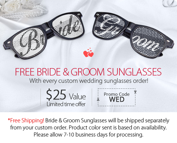 Bride&Groom Sunglasses